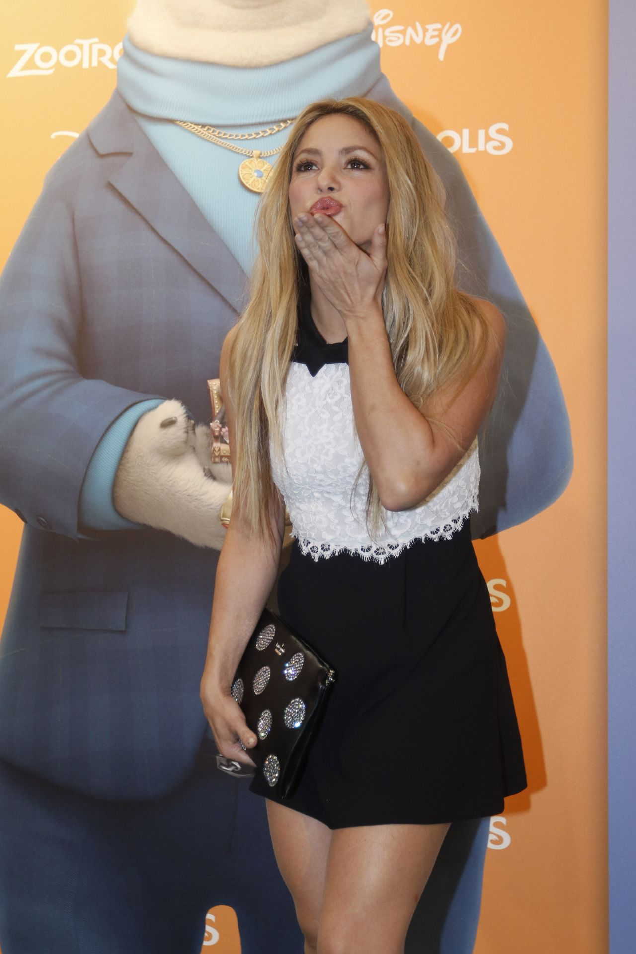 Shakira Zootropolis Premiere In Barcelona