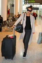Shay Mitchell Airport Style - Toronto Pearson International Airport 2/11/2016