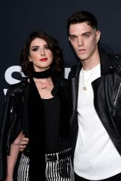 Shenae Grimes – Saint Laurent Show at The Palladium in Los Angeles 2/10/2016