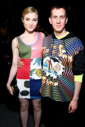 Skyler Samuels - Backstage at the Jeremy Scott Fashion Show - NYFW 2/15/2016