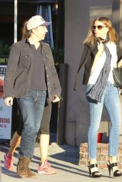 Sofia Vergara - Hits Warren Ave Tattoo Parlor on Sunset blvd in Hollywood 2/6/2016