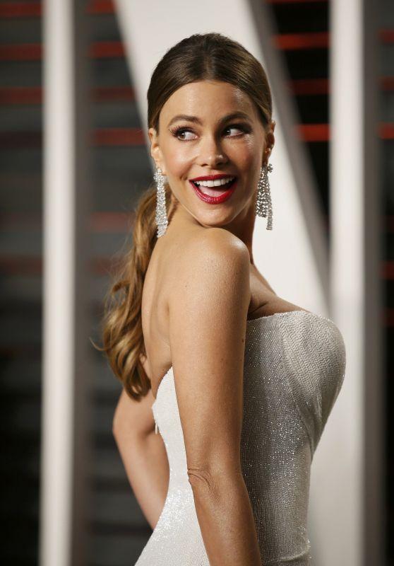 Sofia Vergara - Vanity Fair Oscar 2016 Party in Beverly Hills, CA