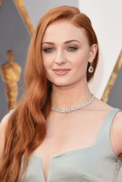 Sophie Turner - Oscars 2016 in Hollywood, CA 2/28/2016