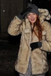 Sophie Turner Winter Style - Out in Montreal 2/18/2016