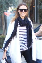 Stacy Keibler Cool and Casual - Out in Beverly Hills 2/4/2016
