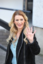 Stephanie Dooley Day - After Appearing on the Loose Women Show in London, February 2016