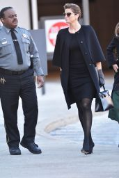 Stephanie Seymour - Arrives to Court in Greenwich, Connecticut 2/2/2016