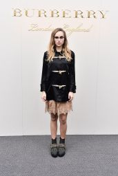 Suki Waterhouse - Burberry Fashion Show in London 2/22/2016