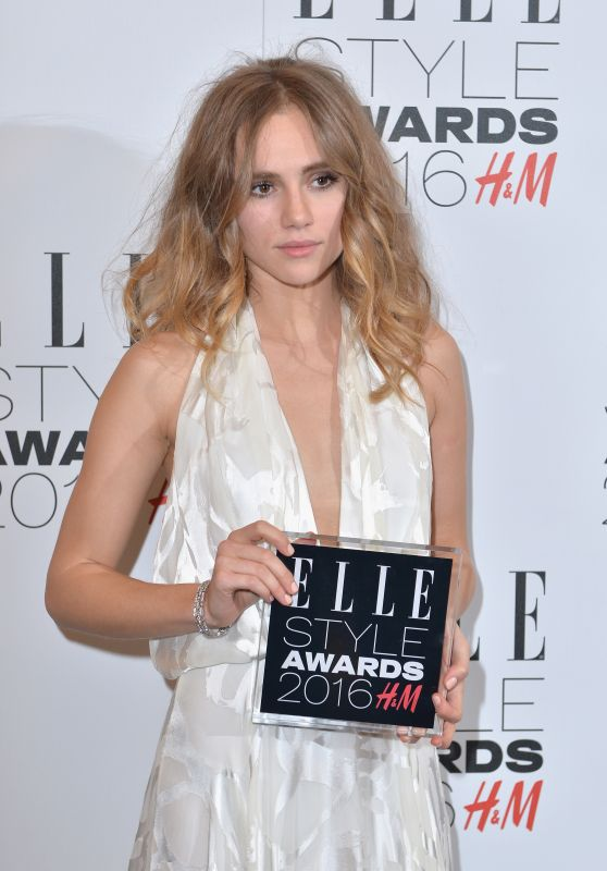 Suki Waterhouse - Elle Style Awards 2016 in London