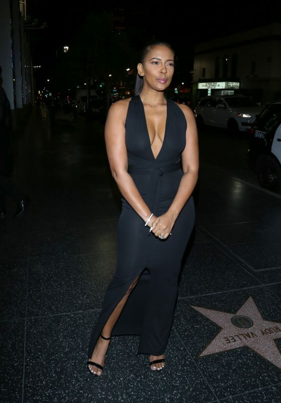 Sundy Carter at the House of Macau in Los Angeles 2/5/2016