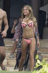 Sylvie Meis Hot in Bikini - Films Commercial for her new Swimmwear Line in Bali, February 2016