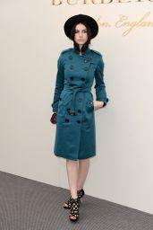 Tali Lennox - Burberry Prorsum Womenswear Catwalk Show - London Fashion Week 2/22/2016