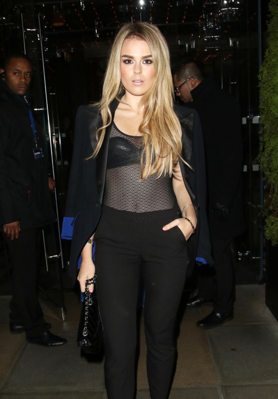 Tallia Storm Night Out - at Edition Hotel in London 2/21/2016