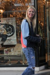 Tara Reid in Ripped Jeans - Out in Los Angeles, CA 2/27/2016