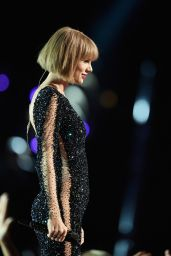 Taylor Swift Performs at Grammy Awards 2016 in Los Angeles, CA