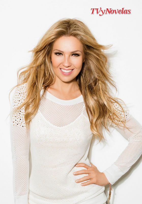 Thalia- TVyNovelasMagazine USA - March 2016