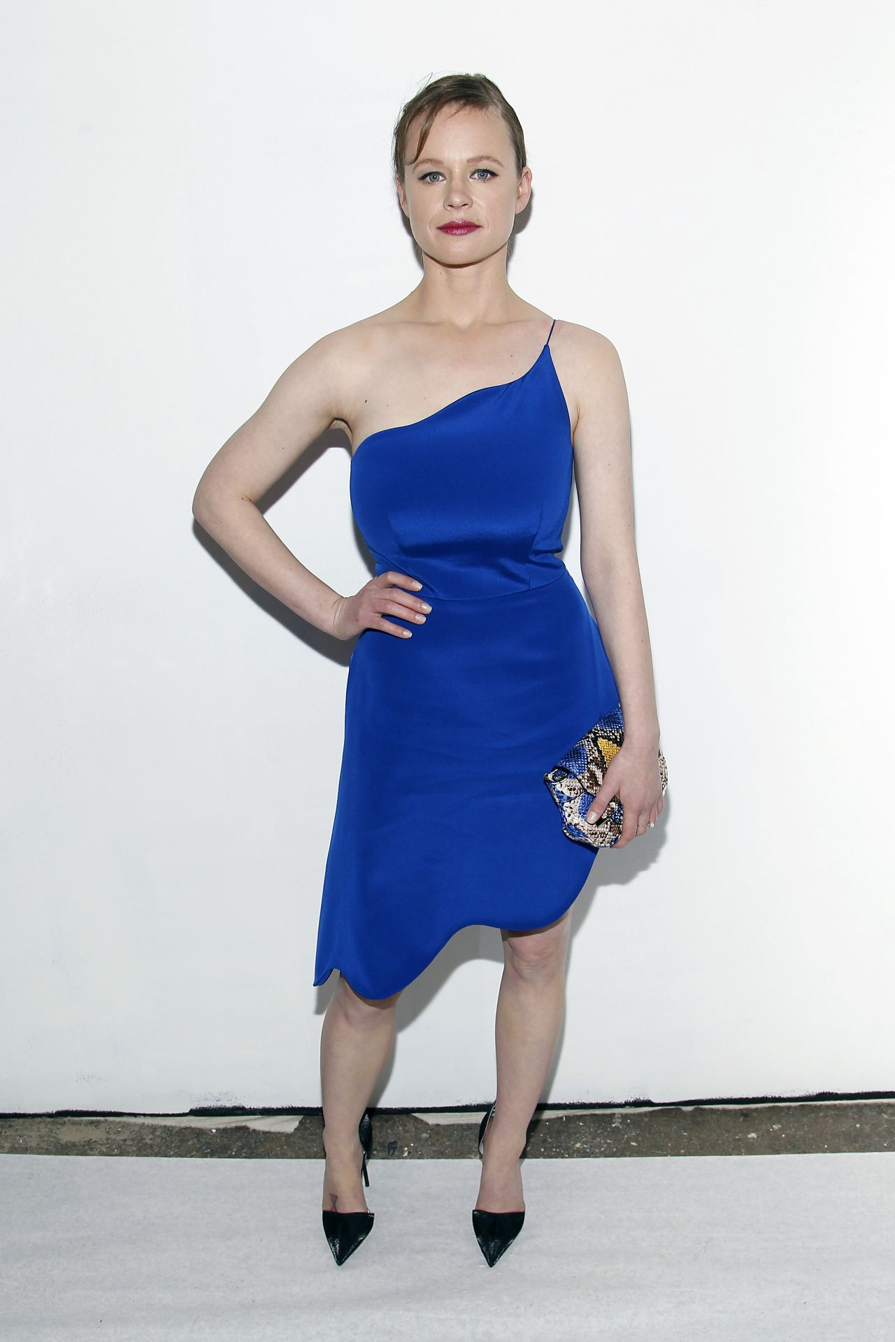 Thora Birch - Christian Siriano Fashion Show - NYFW 2/13