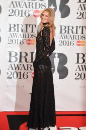 Toni Garrn – BRIT Awards 2016 in London, UK