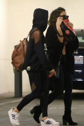 Vanessa and Stella Hudgens - Out in Los Angeles, 2/22/2016