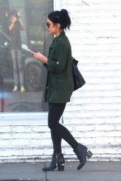 Vanessa Hudgens - Leaving Kate Somerville Skin Care in Los Angeles 2/26/2016