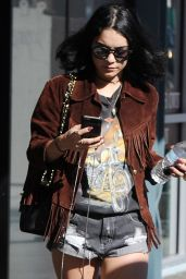 Vanessa Hudgens Street Style - Los Angeles, CA February 2016