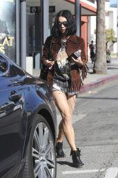 Vanessa Hudgens Street Style - Los Angeles, CA February 2016