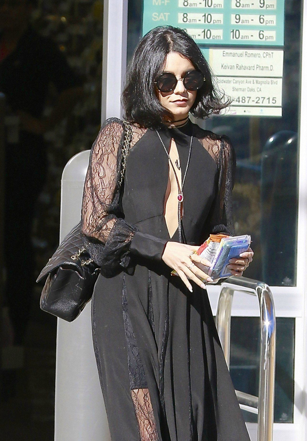Vanessa Hudgens Style - Out in Studio City, 02/09/2016