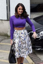 Vicky Pattison - Leaving ITV Studios in London, February 2016
