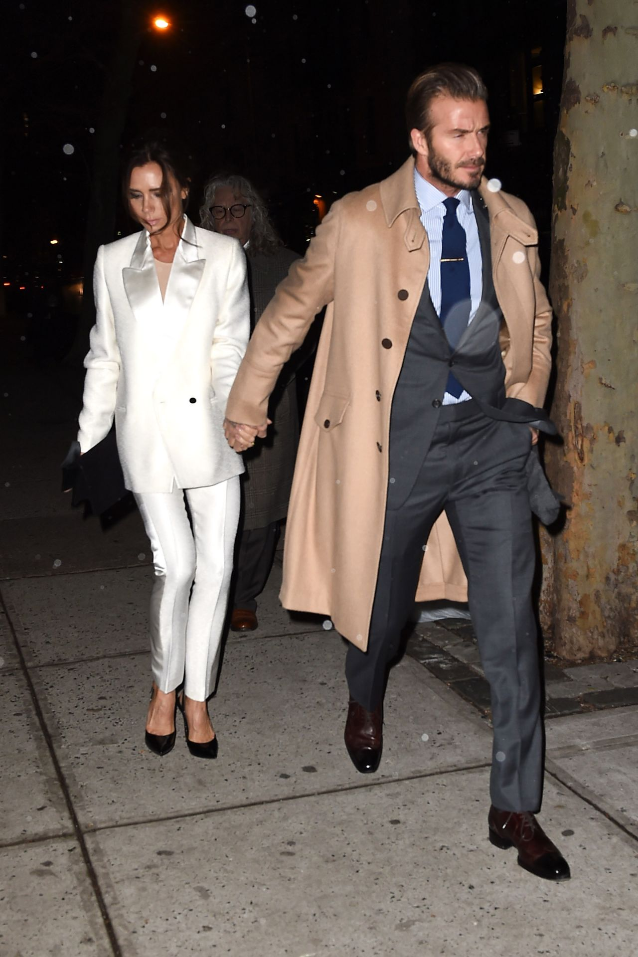 Victoria And David Beckham Night Out Style Nyc 2 8 2016