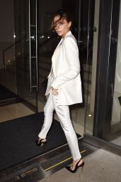 Victoria Beckham - Leave a Dinner Party at Anna Wintour