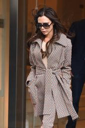 Victoria Beckham - Leaves Her Hotel in NYC 2/10/2016