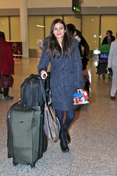 Victoria Justice Airport Style - Pearson International Airport in Toronto 2/14/2016