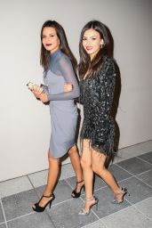 Victoria Justice and Madison Beer - Leaving NeueHouse in New York City, February 2016