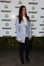 Victoria Justice - Game Winner Experience at Verizon Access Zone in San Francisco, February 2016