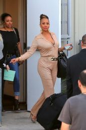 Vivica A. Fox - Leaving a Studio in Los Angeles 2/22/2016