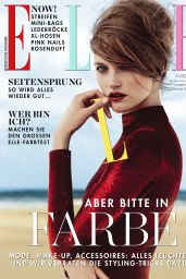 Vlada Roslyakova - Elle Magazine Germany March 2016 Issue