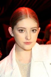 Willow Shields - Naeem Khan Fall 2016 Sashion Show - NYFW 2/17/2016