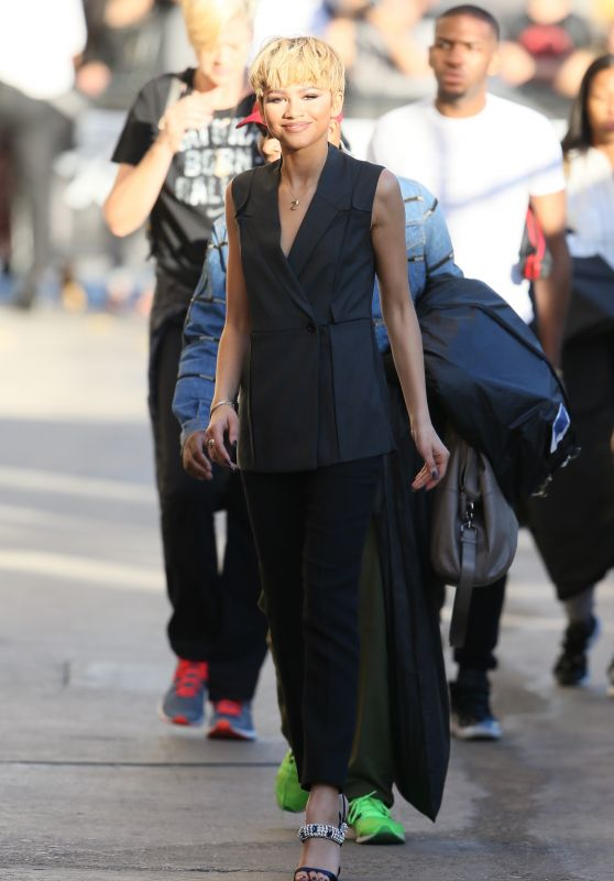 Zendaya Coleman Arriving to Appear on