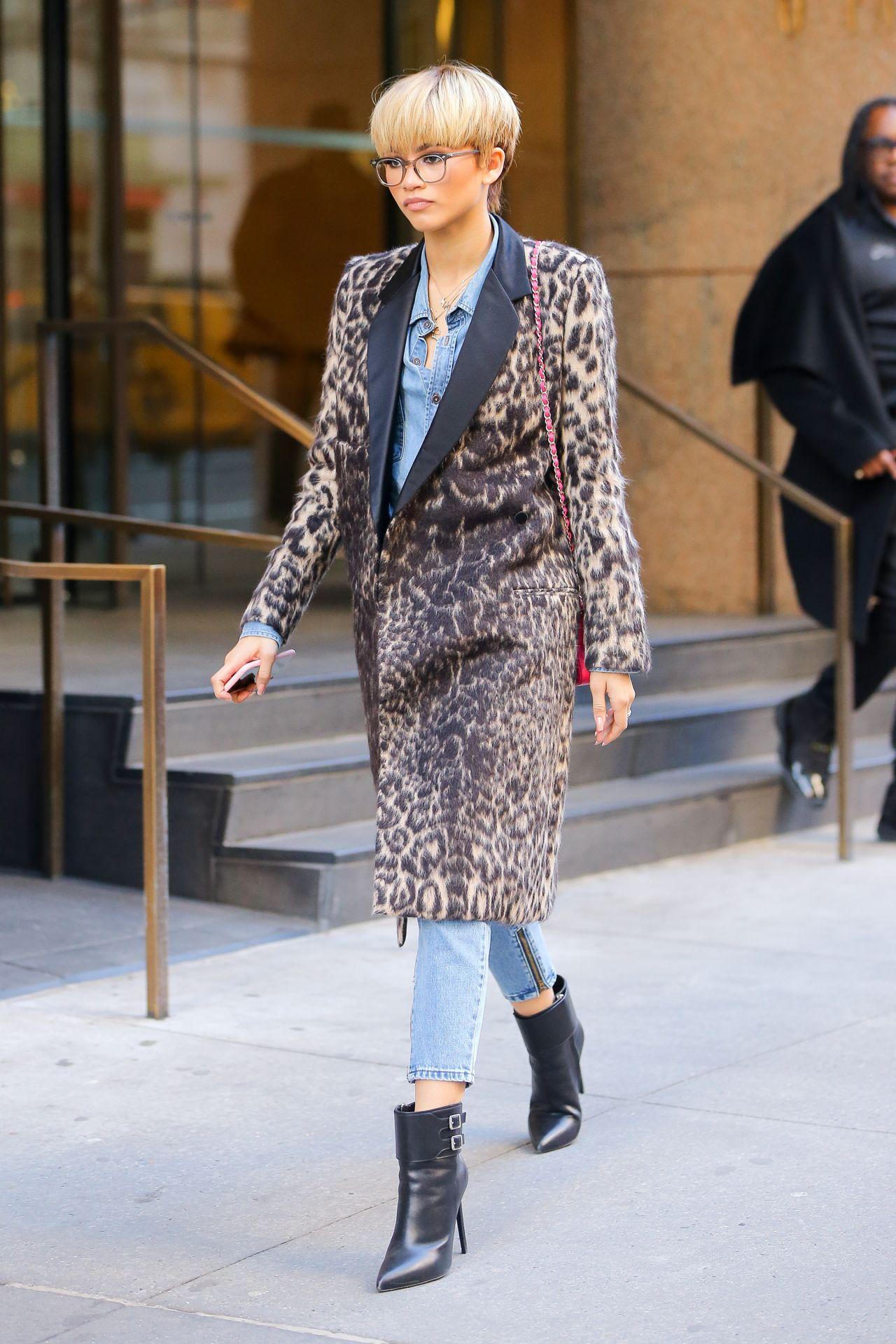 Zendaya Coleman Street Fashion