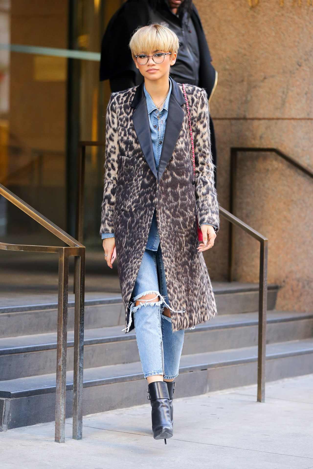 Zendaya Coleman Street Fashion Out In New York City 2 22 2016