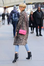 Zendaya Coleman Street Fashion - Out in New York City 2/22/2016