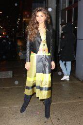Zendaya Fashion - Chelsea Arts Tower in New York City 2/23/2016
