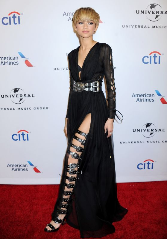 Zendaya - Universal Music Group 2016 Grammy After Party in Los Angeles