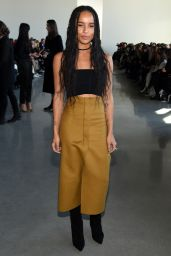 Zoë Kravitz - Calvin Klein Show - New York Fashion Week 2/18/2016