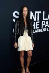 Zoë Kravitz – Saint Laurent Show at The Palladium in Los Angeles 2/10/2016