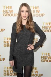 Taissa Farmiga - The New Group Gala in New York City, March 2016