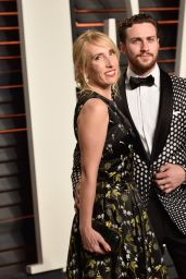 Aaron Taylor-Johnson – 2016 Vanity Fair Oscar Party in Beverly Hills, CA
