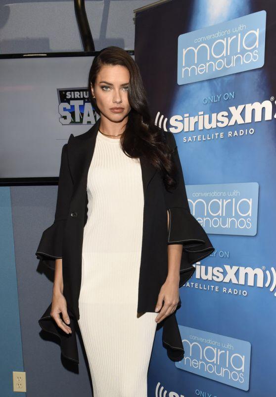 Adriana Lima - SiriusXM Studios in Los Angeles, CA 3/24/2016