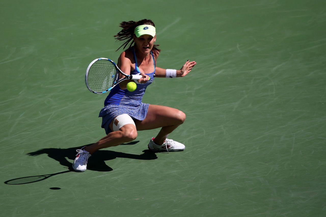 Agnieszka Radwanska – BNP Paribas Open in Indian Wells 2016