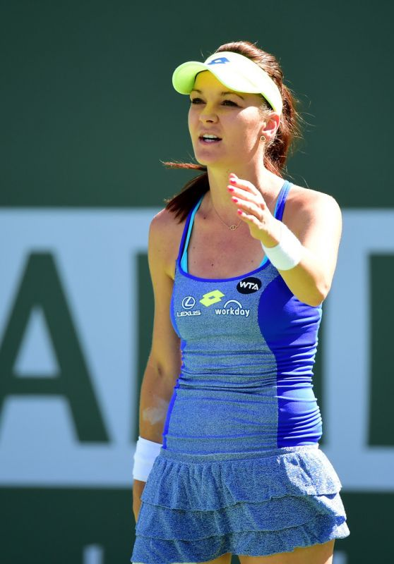 Agnieszka Radwanska - BNP Paribas Open in Indian Wells 3/16/2016